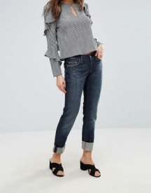 7 For All Mankind Roxanne Mid Rise Skinny Jeans afbeelding