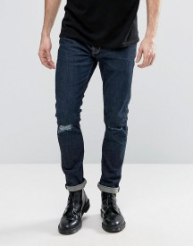 Allsaints Jeans In Skinny Fit With Knee Rips afbeelding
