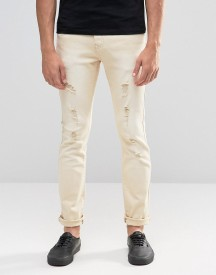 Always Rare Coloured Skinny Jean Rip And Repair afbeelding