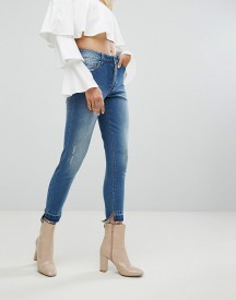 Arrive Skinny Jean With Stepped Hem And Shadow Pocket Detail afbeelding