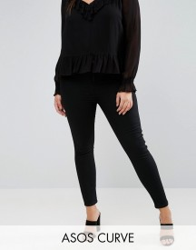 Asos Curve Rivington Jegging In Clean Black afbeelding