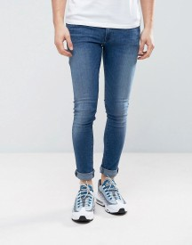 Asos Extreme Super Skinny Jeans In Dark Wash afbeelding