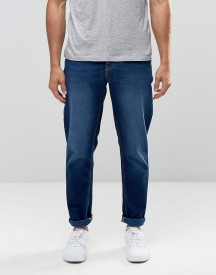 Asos Slim Jeans In Dark Wash afbeelding