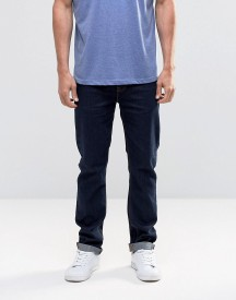 Asos Slim Jeans In Raw Blue afbeelding