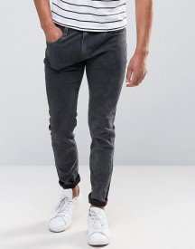 Bellfield Skinny Washed Black Jeans afbeelding