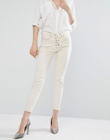 Blank Nyc Skinny Jean With Lace Up afbeelding