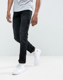 Blend Cirrus Skinny Fit Jean Black Ripped afbeelding