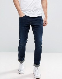 Blend Jeans Jet Slim Fit Mid Wash Indigo afbeelding