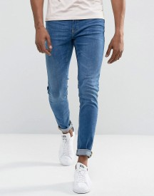 Blend Twister Slim Fit Jean Contrast Pocket Light Wash afbeelding