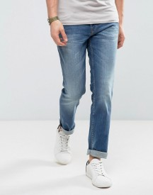 Boss Orange By Hugo Boss Slim Fit Denim Jean In Blue afbeelding