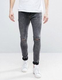 Brooklyn Supply Co Acid Wash Ripped Jeans afbeelding