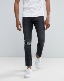Brooklyn Supply Co Cut & Sew Slim Jeans Washed Black afbeelding