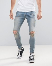Brooklyn Supply Co Distressed Grunge Jeans afbeelding