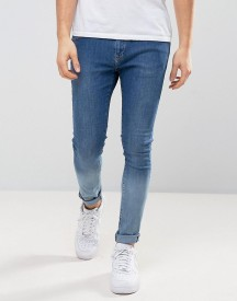 Brooklyn Supply Co Ombre Blue To Ice Jeans afbeelding