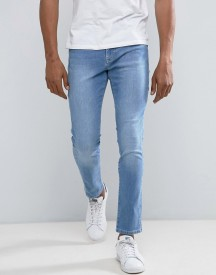 Brooklyn Supply Co Skinny Carpenter Vintage Wash Jeans afbeelding