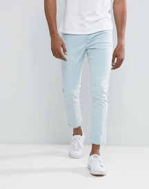 Brooklyn Supply Co Skinny Fit Jean Ice Blue Wash afbeelding