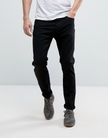 Burton Menswear Tapered Fit Jeans In Black afbeelding