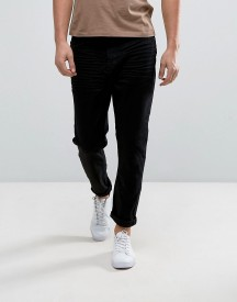 Casual Friday Tapered Cropped Jeans In Black afbeelding