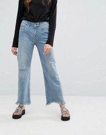 Cheap Monday A Line Chewed Hem Relaxed Jeans afbeelding