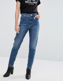 Cheap Monday High Rise Mom Jean With Released Hem afbeelding