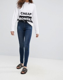 Cheap Monday High Snap Skinny Jeans afbeelding