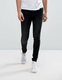 Cheap Monday Him Spray Jean Black Sin afbeelding