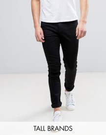 Cheap Monday Tall Jeans Tight Skinny Fit In New Black afbeelding