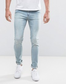Cheap Monday Tight Cure Blue Skinny Jeans afbeelding