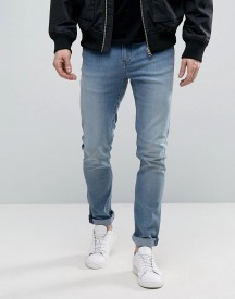 Cheap Monday Tight Jeans Strong Blue Wash afbeelding