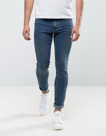 Cheap Monday Tight Skinny Jeans New Term Blue afbeelding