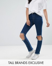 Daisy Street Tall Skinny Jean With Busted Knee afbeelding