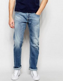 Diesel Jeans Waykee 842h Loose Straight Fit Stretch Light Wash afbeelding