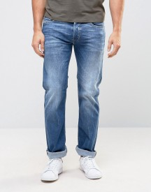 Diesel Safado Straight Fit Jeans 859r Mid Light Wash afbeelding