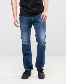 Diesel Waykee Straight Fit Jeans 679i Dark Wash afbeelding