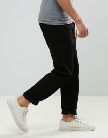 Dr Denim Ed Straight Jeans In Black afbeelding