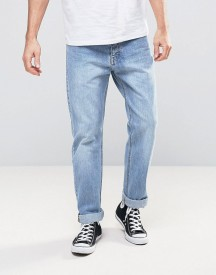 Dr Denim Ed Straight Jeans In Light Retro Wash afbeelding