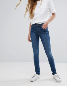 Dr Denim Lexy Mid Rise Second Skin Super Skinny Jeans afbeelding