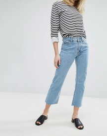 Dr Denim Meadow Mid Rise Crop Flare Jean afbeelding