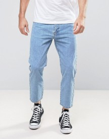 Dr Denim Otis Straight Cropped Fit Jeans Organic Light Retro afbeelding