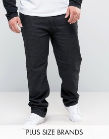 Duke Plus Jeans In Stretch Comfort Fit In Black afbeelding