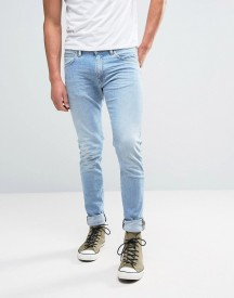 Edwin Ed-85 Slim Tapered Drop Crotch Jeans Light Trip Used Wash afbeelding