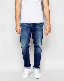 Esprit Straight Fit Jeans In Midwash Blue afbeelding