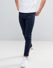 Farah Drake Slim Fit Jeans In Navy Twill afbeelding