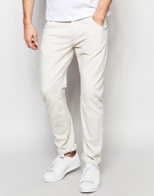 G-star Jeans Arc 3d Slim Fit Stretch Overdye Twill In Oatmeal afbeelding
