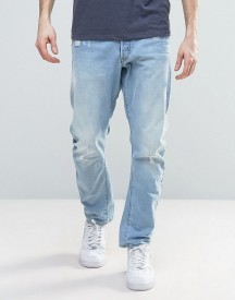 G-star Type C 3d Tapered Jeans Light Aged Destroyed Wash afbeelding