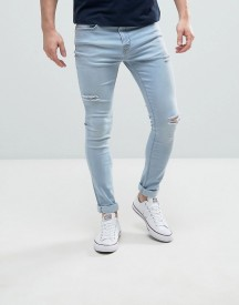Hoxton Denim Super Skinny Ice Wash Jeans afbeelding