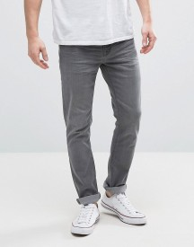 Hoxton Denim Washed Grey Skinny Jeans afbeelding