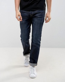 Jack & Jones Intelligence Dark Wash Jeans In Regular Fit afbeelding