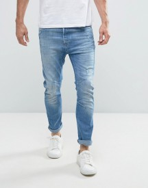 Jack & Jones Intelligence Jeans In Bow Leg Fit Denim afbeelding
