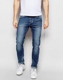 Jack & Jones Intelligence Light Wash Jeans In Slim Fit With Stretch afbeelding